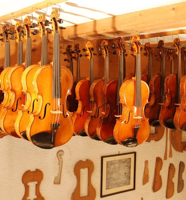 Verleih von Geigen, Bratschen & Cellos