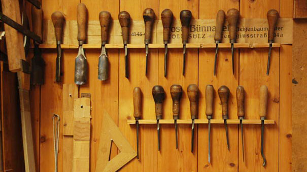 Geigenbau Werkzeug
